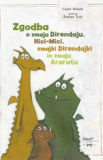 Zgodba o zmaju Direndaju, Hici-Mici, zmajki Direndajki in zmaju Araratu
