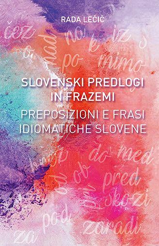 Slovenski predlogi in frazemi (pubblicazione multilingue)