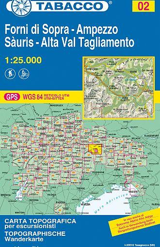 Forni di Sopra, Ampezzo, Sàuris, Alta Val Tagliamento
