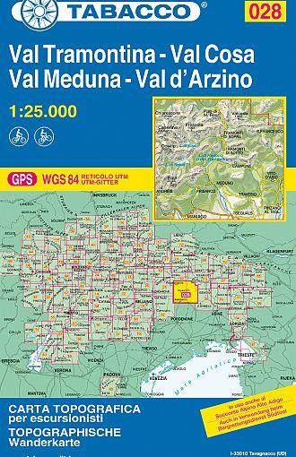 Val Tramontina, Val Cosa, Val Meduna, Val d'Arzino