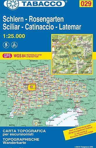 Sciliar, Catinaccio, Latemar / Schlern, Rosengarten