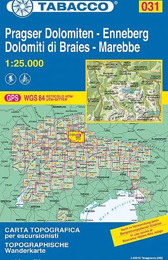 Dolomiti di Braies, Marebbe / Pragser Dolomiten, Enneberg