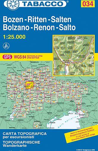 Bolzano, Renon, Salto / Bozen, Ritten, Salten