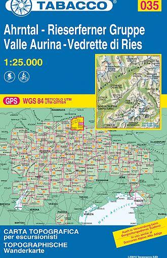 Valle Aurina, Vedrette di Ries / Ahrntal, Rieserferner Gruppe