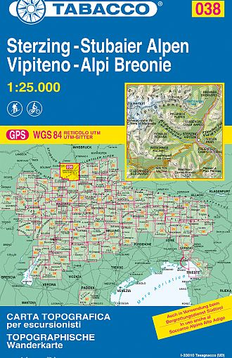 Vipiteno, Alpi Breonie / Sterzing, Stubaier Alpen