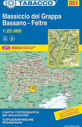 Massiccio del Grappa, Bassano, Feltre