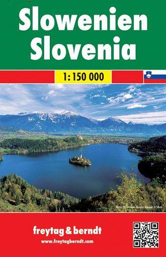 Slovenija 1:150.000, avto+turistična karta