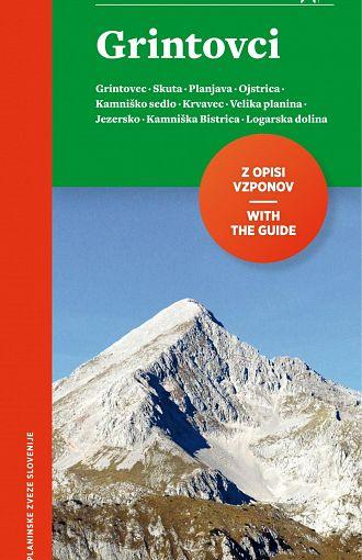 Grintovci 1:25.000, planinska karta