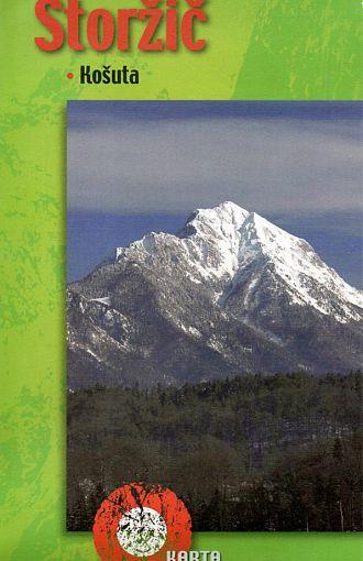Storžič, Košuta 1:25.000, planinska karta