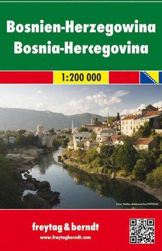 Bosnia ed Erzegovina 1:200.000, avto+turistična karta