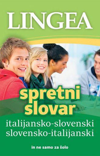Spretni slovar. Italijansko-slovenski, slovensko-italijanski (publikacija je večjezična)