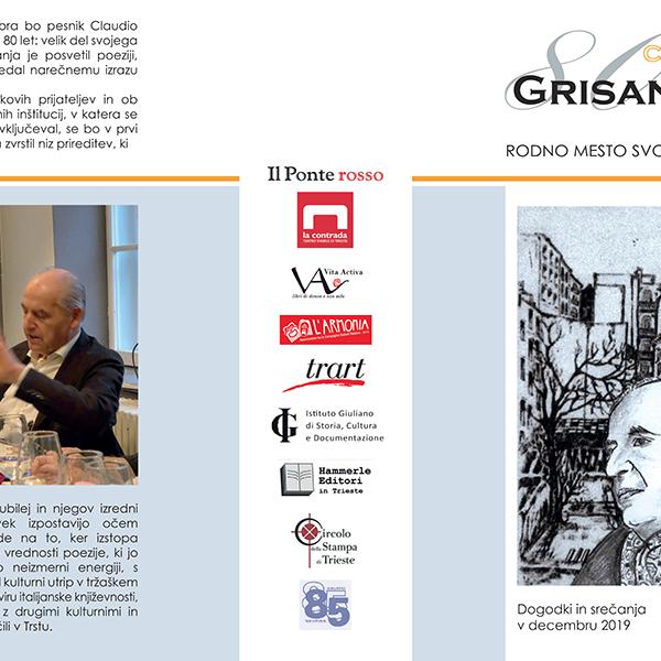 CLAUDIO GRISANCICH – Un omaggio in versi