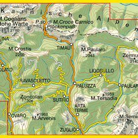 Alpi Carniche Carnia Centrale