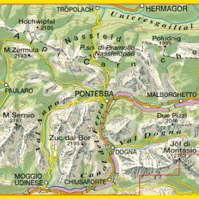 Alpi Carniche Orientali, Canal Del Ferro, Nassfeld