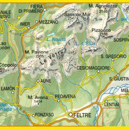 Alpi Feltrine Le Vètte, Cimònega